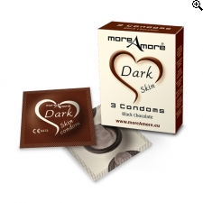 MoreAmore - Condoom Dark Skin 3 St.