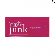 Pink - Hot Pink Warming Glijmiddel 5ml.