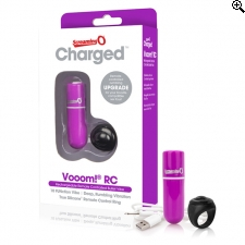 The Screaming O - Charged Remote Control Vooom Bullet Paars