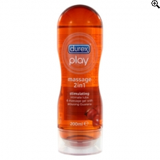 Durex Play Massage 2 In 1 Guarana 200ml