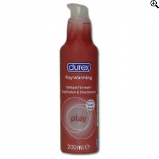 Durex Play Warming Glijmiddel 200ml.