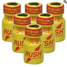 Rush Popper - 100% Origineel Never Fake It 6st.