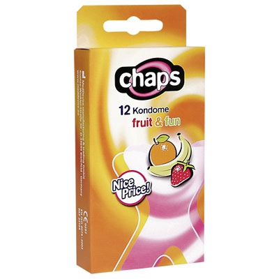 Image of 12 condooms met fruitsmaak