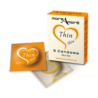 Image of moreamore - condoom thin skin 3 st.