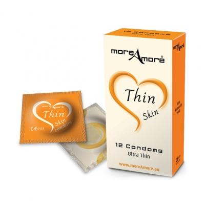 Image of moreamore - condoom thin skin 12 st.
