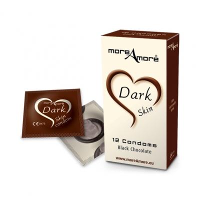 Image of moreamore - condoom dark skin 12 st.