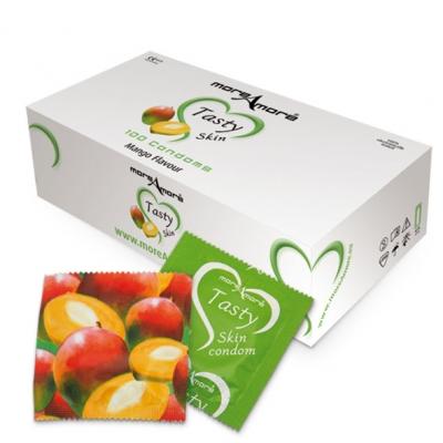 Image of moreamore - condoom tasty skin mango 100 st.