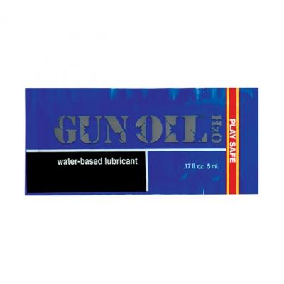 Image of gun oil - h2o waterbasis glijmiddel 5ml.