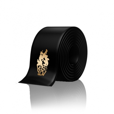 YESforLOV - Zwarte Satijnen Blinddoek