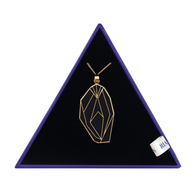 Image of rianne s - pussy ketting zwarte diamant