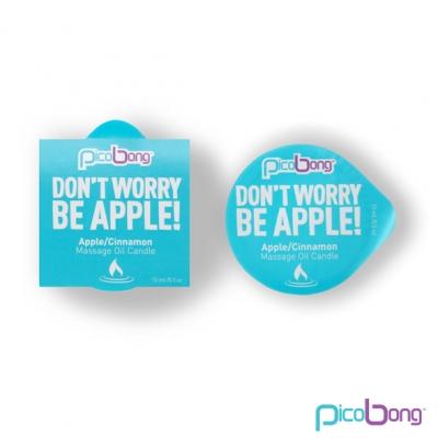 Image of picobong - appel / kaneel massage olie kaars