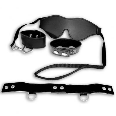Image of s / m - zwarte bondage kit