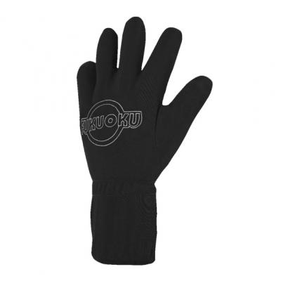 Fukuoku – Massage Handschoen Links M-L Zwart – Fukuoku