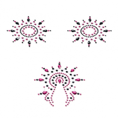 Petits Joujoux – Gloria Set Zwart & Roze – Petits Joujoux