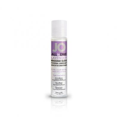 System JO - Massage Glide Lavendel 30ml.