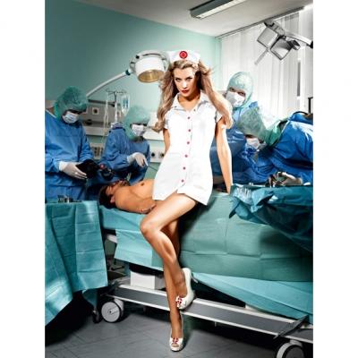 Image of baci - o.k. verpleegster set one size