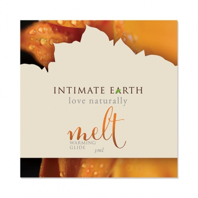 Image of intimate earth - melt verwarmend glijmiddel foil 3 ml