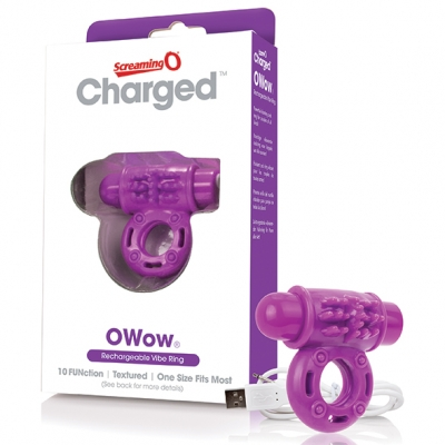 - The Screaming O - Charged OWow Vibe Ring