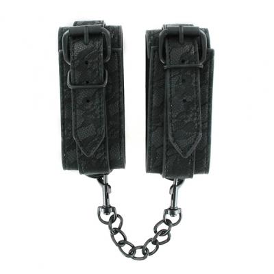 - Sportsheets - Midnight Lace Cuffs