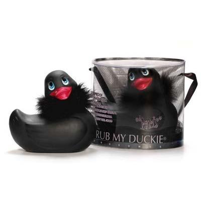 I Rub My Duckie - Paris Vibrator - Zwart