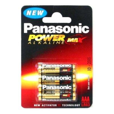 Panasonic Batterijen Aaa 4 St.