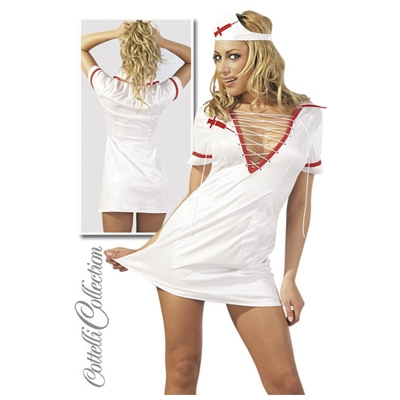 Image of verpleegster pakje met hoofdkapje