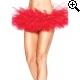Leg Avenue Europe Organza Tutu Red - One Size