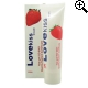 Love Kiss Aarbei Glijmiddel 100ml.